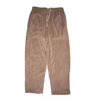 Solid Polar Fleece Lounge Pants (1224)