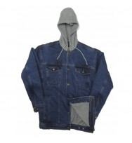 Denim Polar Fleece Jacket (202)