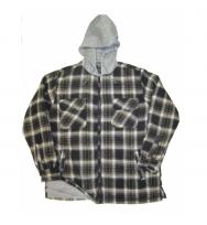 Plus Size Zipper Fleece Hood (2822X)