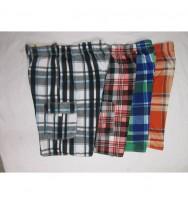 Printed Plaid Swit Suit (6102)