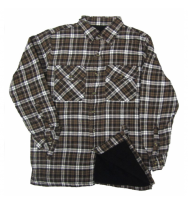 Front Buttoned Flannel Shirt (822BT)