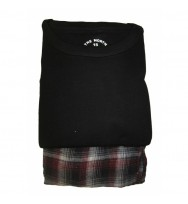 S/S T-shirt with Flannel Pants (92E)