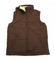 Ladies Nylon Bubble Vest - Hidden Hood (L522)