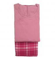 Woven Flannel t-shirt & Pants (L894)