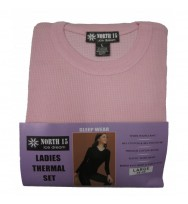 Sleep Wear Ladies Thermal Set (L989)